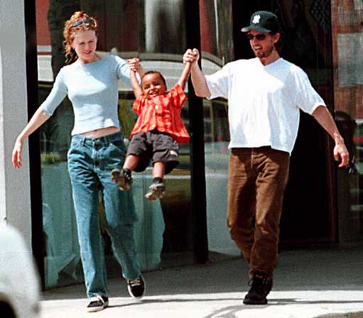 Tom Cruise, Nicole Kidman & Son